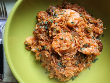 Shrimp and Andouille Sausage Jambalaya