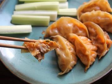 Buffalo Chicken Dumplings