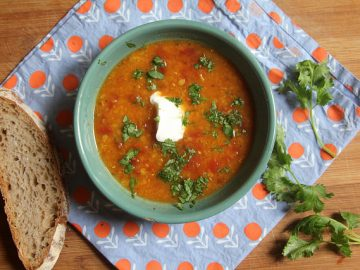 Spicy and Sour Tomato Lentil Soup (Rasam)