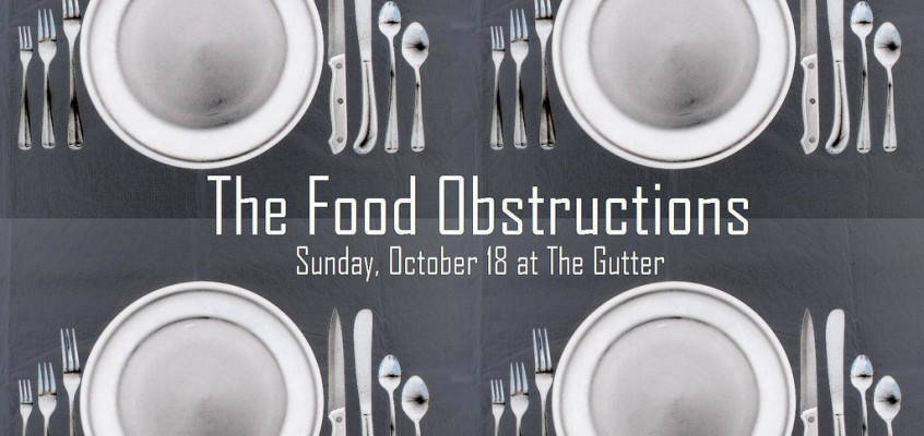 The Food Obstructions Cook-Off Series at The Gutter