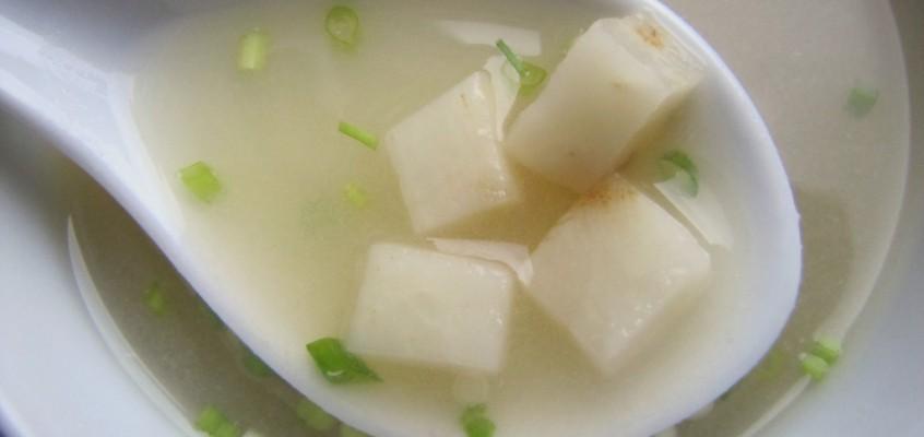 Celeriac Miso Soup