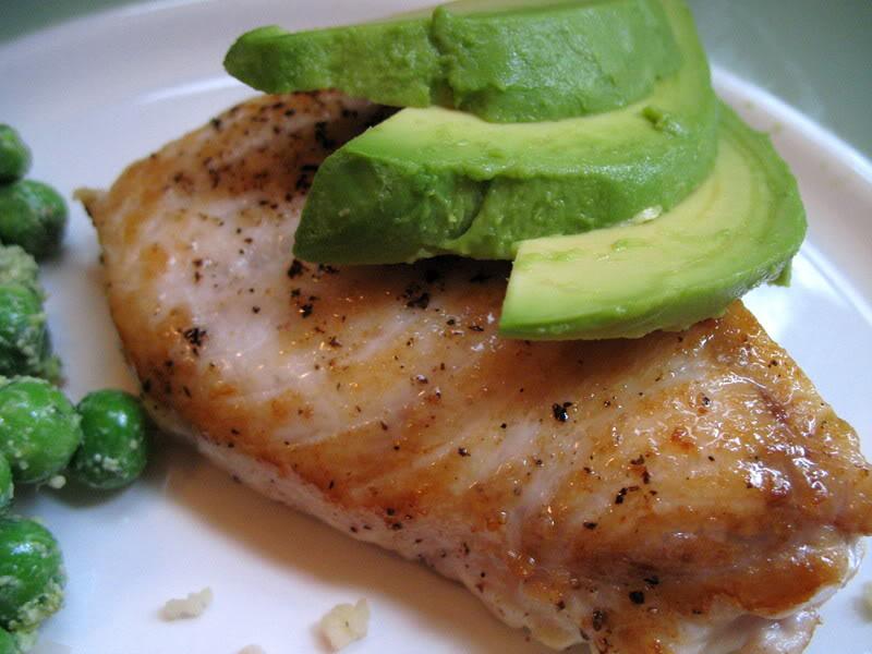 Swordfish Steak, Couscous Salad & Lemony Pesto Fresh Peas