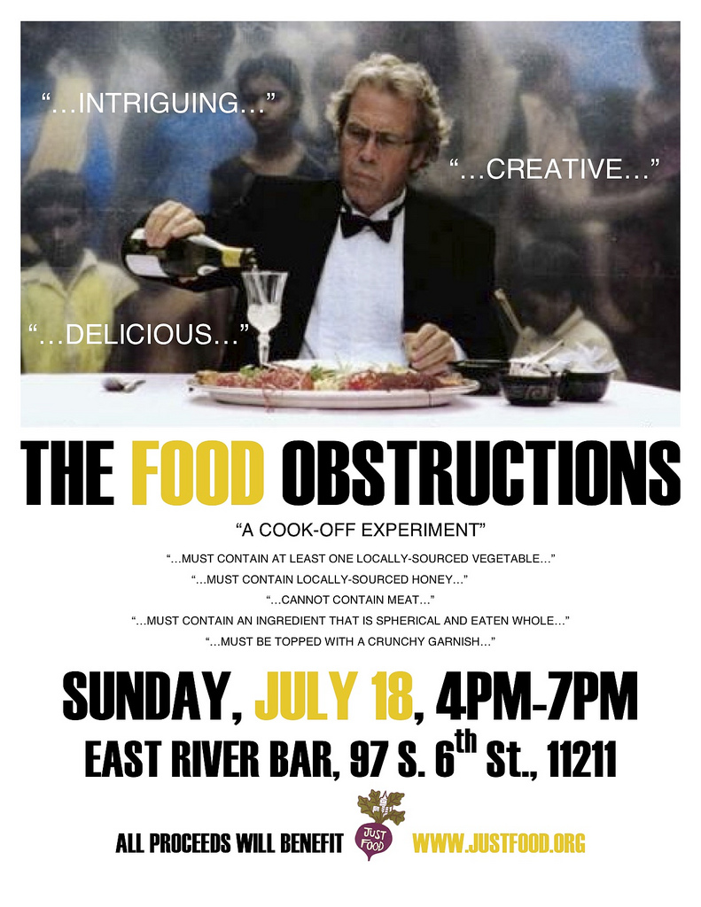 The Biggest, Best, Most Outdoors, Food Obstructions IV is July 18th
