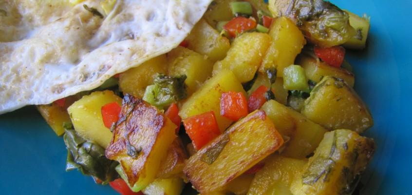 Spicy Squash Hash