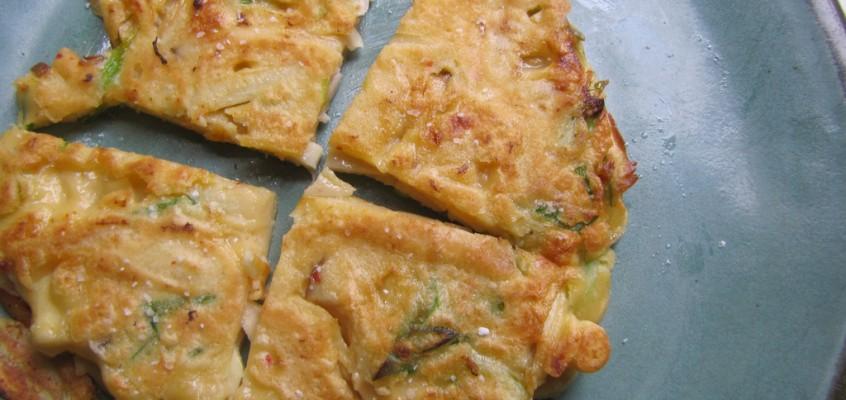 Savory Mushroom & Scallion Pancakes