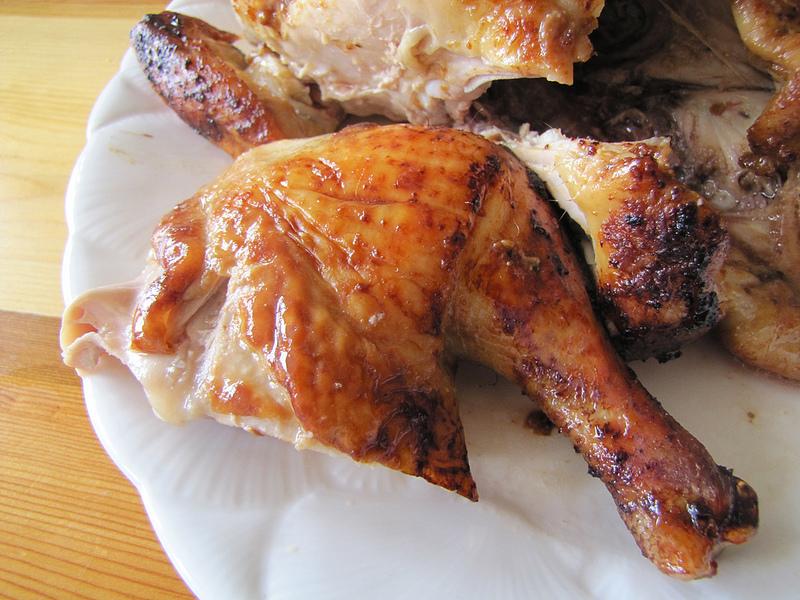 Red Miso Roast Chicken