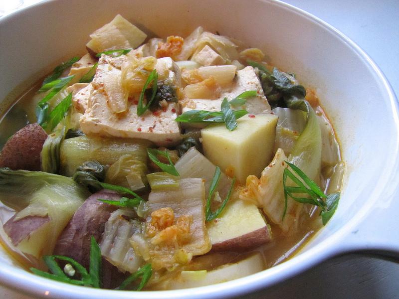 Kimchi & Potato Stew