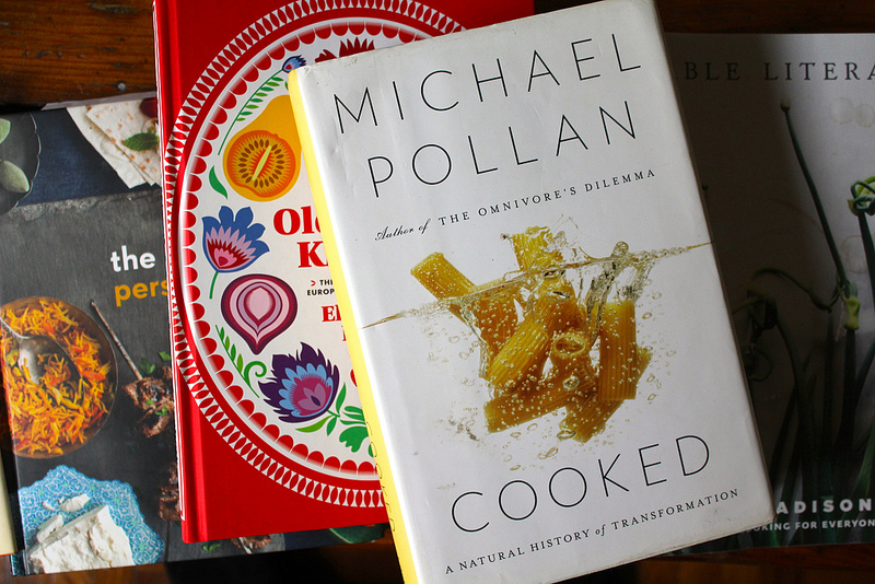 My Five Favorite Food Books of the Year