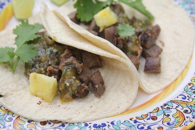 Tongue Tacos (Tacos de Lengua)