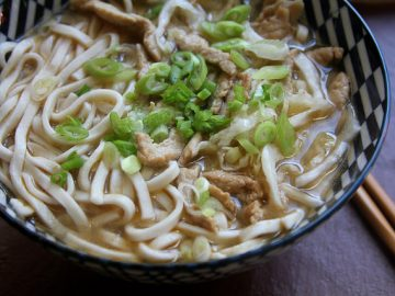 The Joy of Noodles (and an improvised Zha Cai Rou Si Mian recipe)