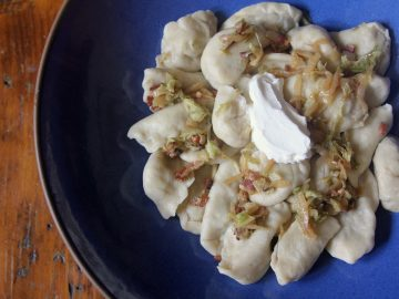 Ukrainian Cabbage Dumplings (Varenyky), and a Confession