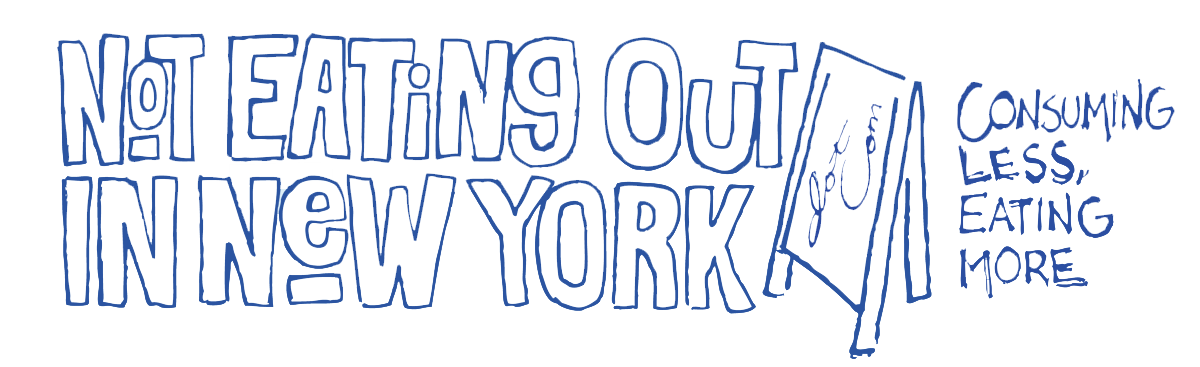 Not Eating Out in New York