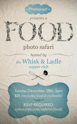 Come on a Food Photography Safari with me