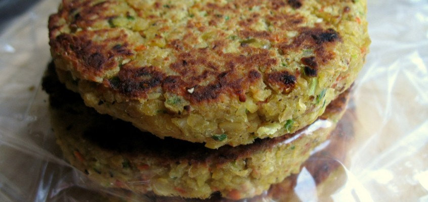 Easy Chickpea Freezer Patties