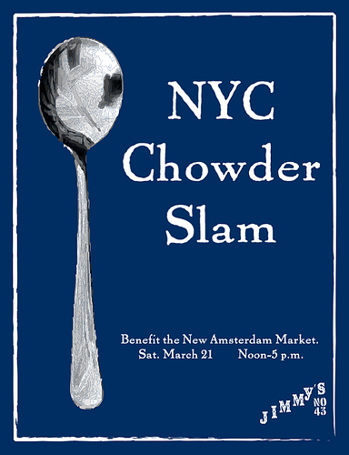 New Amsterdam Market benefit chowder cook-off is tomorrow!