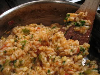 Enter the Risotto Challenge & Just Food Benefit