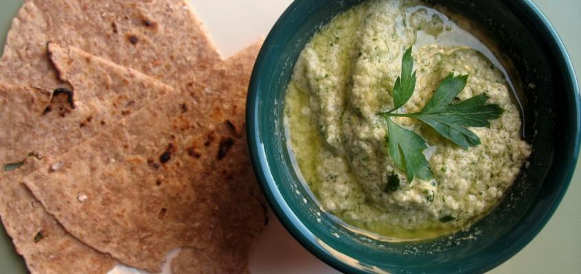 Herbed Feta and Tahini Dip