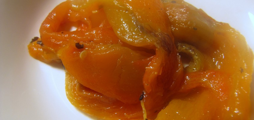 Home-Jarred Roasted Red Peppers