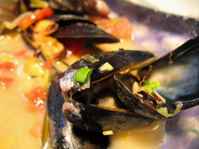 Mussels for Mum