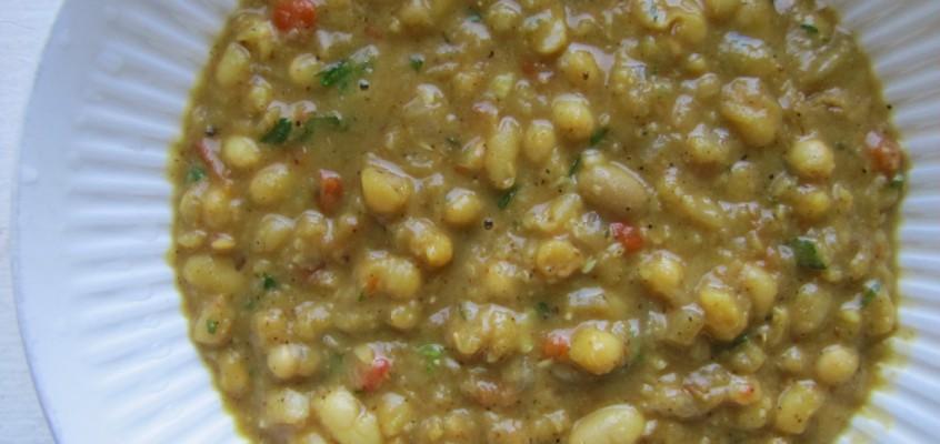 White Bean Dal