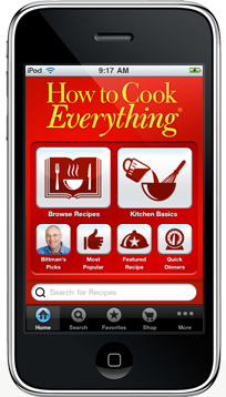 Win the How To Cook Everything iPhone App (and a conversation with Mark Bittman)