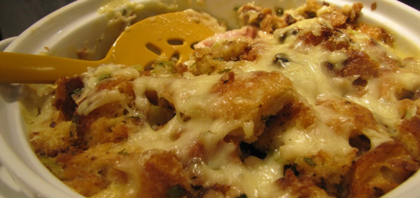 Chicken Cordon Bleu Bake, the Winning Casserole Party '10 Entry