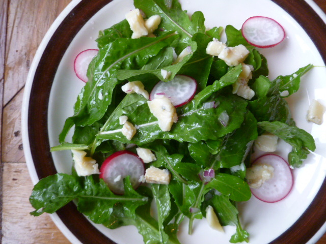 Arugula Salad with Wisconsin Blue Cheese