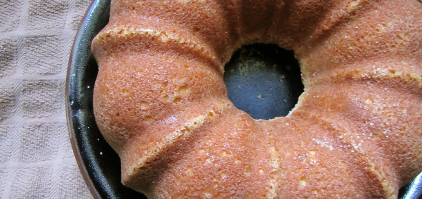 Orange Rosemary Bundt Cake