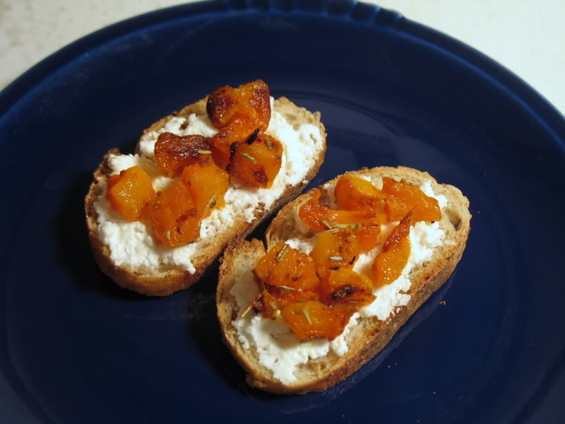 Winter Squash Bruschetta