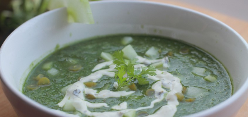 Green Gazpacho (and a preview of the Feast of 61 Local Ingredients)