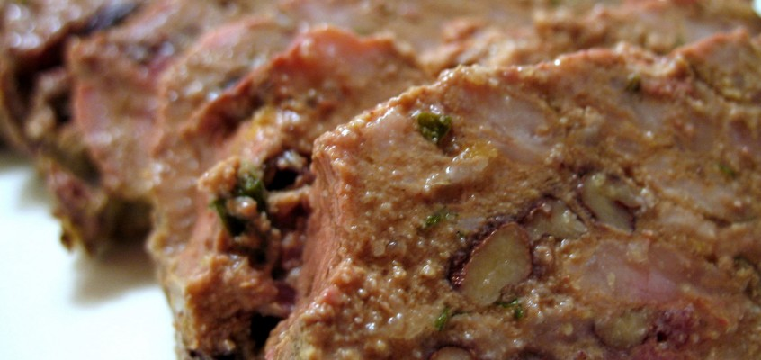 Country Pâté with Pecans and Cranberries