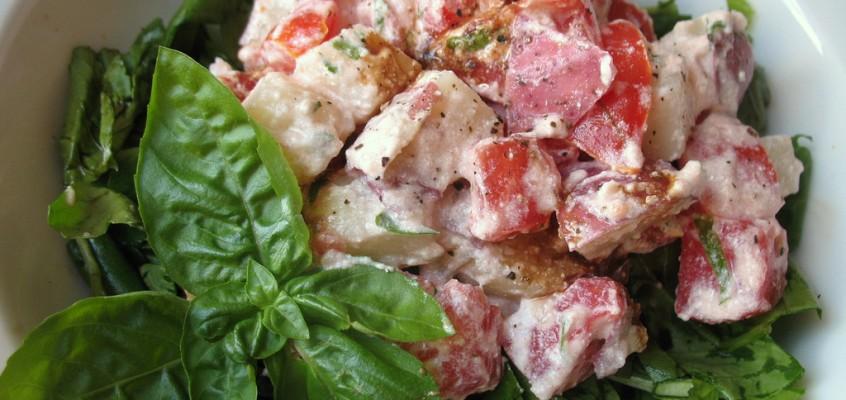 Pomato Ricotta Salad