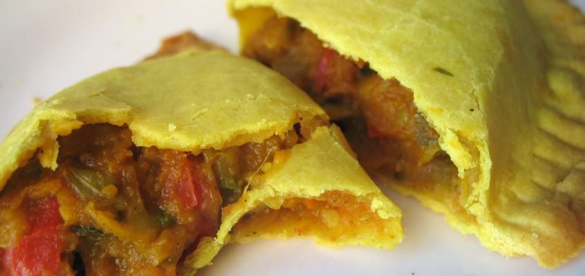 Vegetarian Jamaican Patties