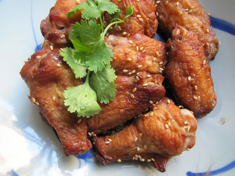 Cold Sesame Wings