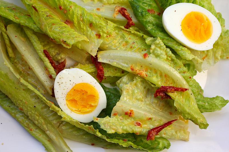Sundried Tomato Caesar Salad Dressing