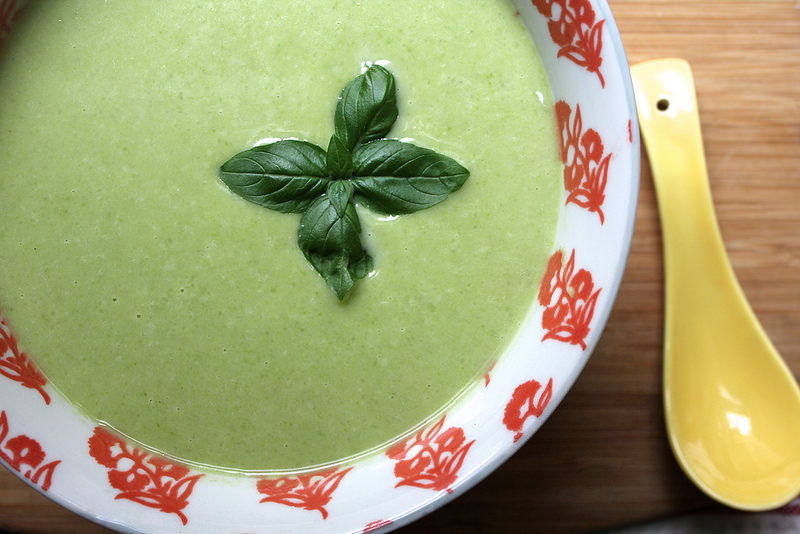 Chilled Fava Bean Soup